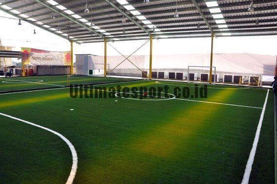 Biaya Bikin Lapangan Futsal Semi Indoor 2017