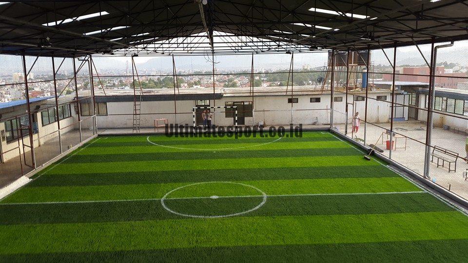 Biaya Bikin Lapangan Futsal Outdoor Dengan Plesteran