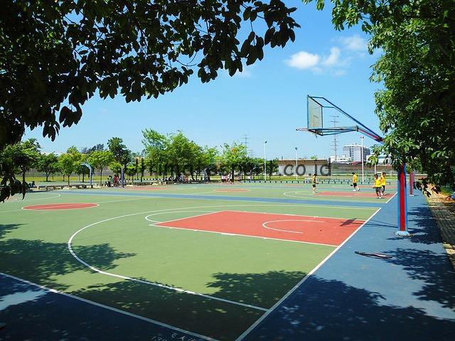 Proses Pembuatan Lapangan Basket