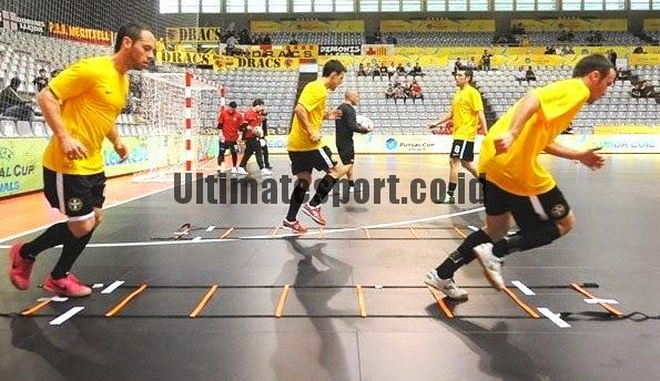 tips lincah bermain futsal