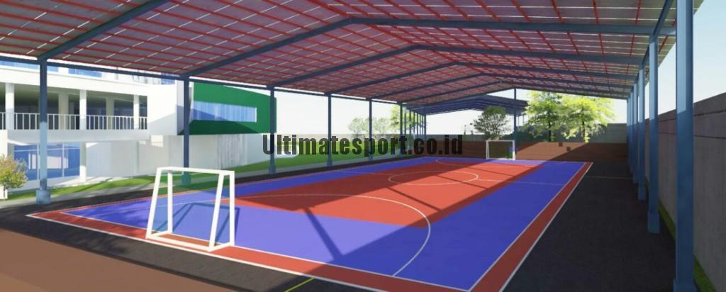 interlock lapangan futsal