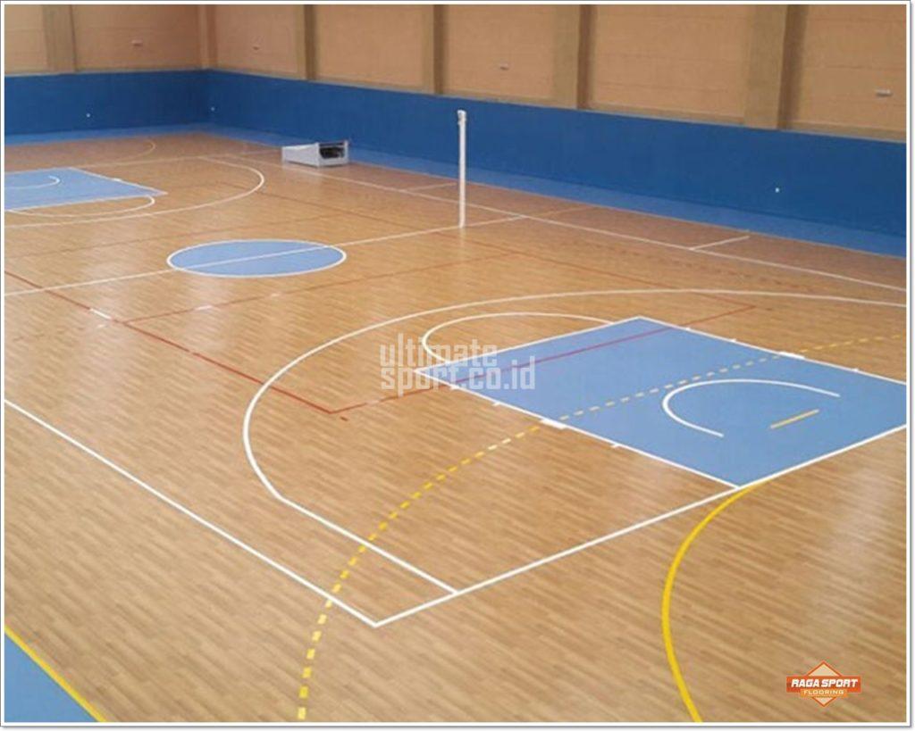 karpet lapangan basket