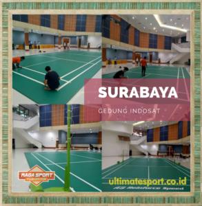 karpet lapangan badminton