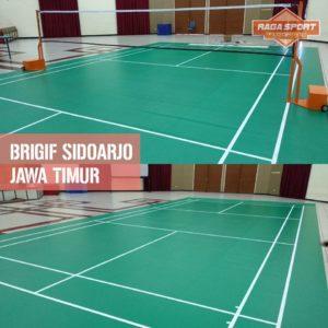 karpet badminton brigif sidoarjo