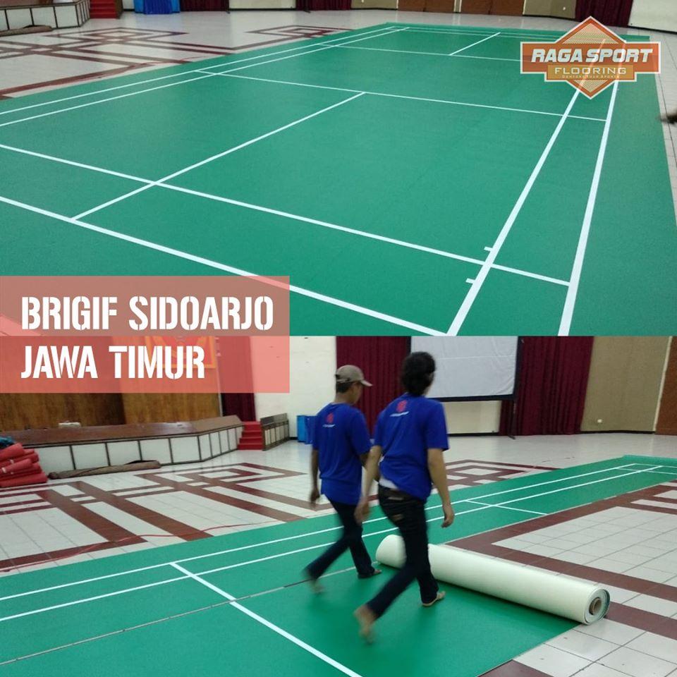 karpet badminton brigif sidoarjo2